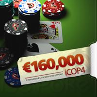 iCOP4 arranca hoje na ParadisePoker - €160.000 em prémios