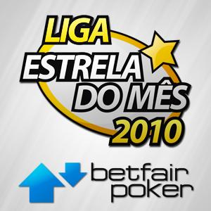 Liga Estrela do Mês: Já inseriste o teu Poker Alias da Betfair na Minha Conta?