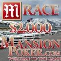 Race PokerPT.com @ Mansion Poker - mais uma promoção exclusiva para os nossos jogadores!