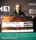Pedro TheMayor Demeyere 3º Classificado do Betsson Estoril Live