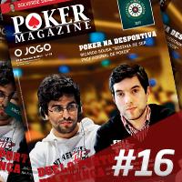 Poker Magazine Fevereiro amanhã nas bancas com o Jornal OJogo