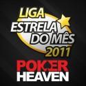 Hoje a Liga Estrela do Mês é na Poker Heaven com €200 em prémios