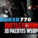 10 Pacotes WSOP em jogo na Poker770