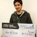 Filipe Ku4tro Silva é o grande vencedor do 25.000€ Poker Pro Masters