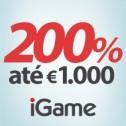 iGame oferece Bónus de 200% até €1.000