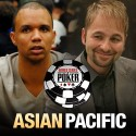 Phil Ivey e Daniel Negreanu líderes na mesa final do Evento #3 WSOP APAC