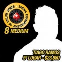 Tiago 'puto59' Ramos foi o 5º no SCOOP 8 Medium - $23,880.75