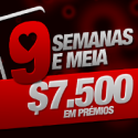 chillydude acaba com a fase regular na WilliamHill - 9 Semanas e Meia -