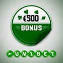 Unibet oferece Bónus de €500 a quem se mudar para o novo software