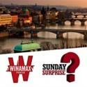 Ganha o próximo Sunday Surprise e recebe uma viagem de uma semana a Praga, para 4 pessoas