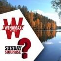 Sunday Surprise deste domingo vai levar o vencedor à pesca da truta na Finlândia