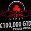 iPOPS Micro Series arrancam hoje - €100.000 garantidos em torneios de baixo buy-in