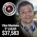 Belo anoitecer para Vítor Monteiro no TCOOP - 3º no evento #1 e prémio de $37,583