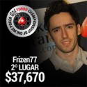 Bruno 'Frizen77' Ferreira foi 2º no TCOOP #11 e recebeu $37,670