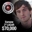 Após chop a 5, Esmone ficou com o maior prémio do TCOOP #19