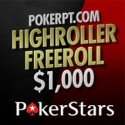VIP Freeroll na PokerStars passa a PokerPT HighRoller Freeroll - $1,000 em prémios
