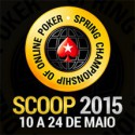 Vídeo da mesa final do Main Event High do SCOOP 2015 - com cartas dos jogadores