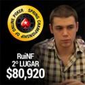 $80,920 para RuiNF - 2º no SCOOP #16High