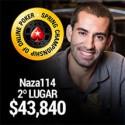 2º lugar de Naza114 no SCOOP #34High - prémio de $43,840