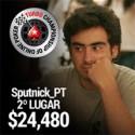 $24,480 para Ricardo 'Sputnick_PT' Campos - 2º no TCOOP #48