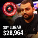 $28,964 para sousinha23 - 38º no High Roller WCOOP