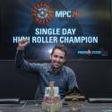 Single Day High Roller da Macau Poker Cup 26, ganho por Sergio Aido