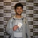 Carlos Azevedo ganhou o 15º torneio das Jackpot Series II