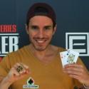Bruno Pinto campeão do Evento#2 BigStack do WSOPc Estoril €19.990