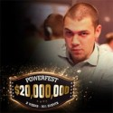 $34,383 para RuiNF, 2º no High Roller da partypoker Powerfest