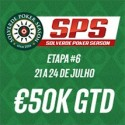 Chip Leader do Dia 1 da Etapa #6 SPS €50k GTD Ganha Entrada no Main Event WPT DeepStacks Vilamoura