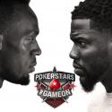 Usain Bolt e Kevin Hart no PokerStars Championship Bahamas 2018