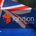Ignition Casino Começa a Operar na Austrália