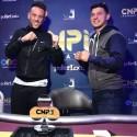Claudio Coelho 2º e Nuno 'Che' Andrade 3º no Main Event CNPi Summer Edition