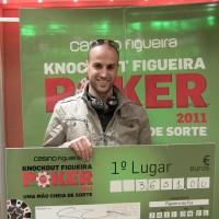 Marcos Ramos é o novo campeão do Knockout Figueira Poker Tour
