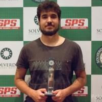 Victor Begara ganhou a 3ª Etapa Solverde Poker Season