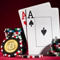 Mistura lenta entre poker online e cripto-moeda