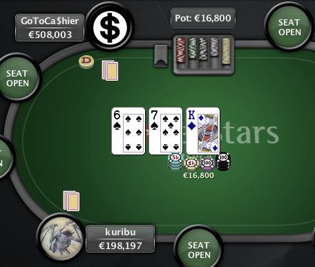 O Clássico - PokerStars - 25 Mar - Mao Final