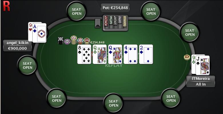 O Clássico - PokerStars - 15 abr - Mao Final