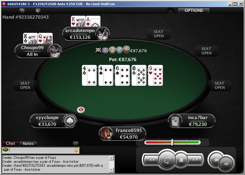 PokerStars - O Clássico - Bubble Boy FT